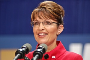 Picture of Sarah Palin Presenting