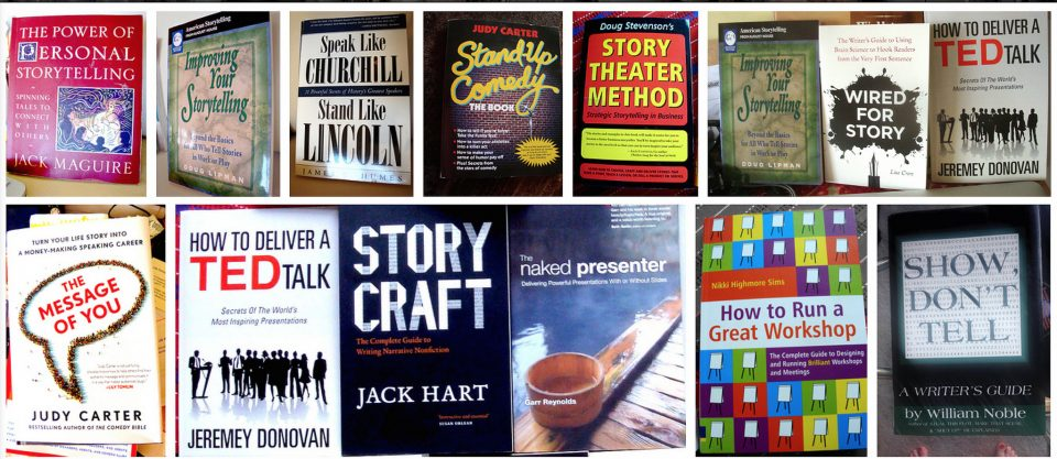 front covers of public speaking books