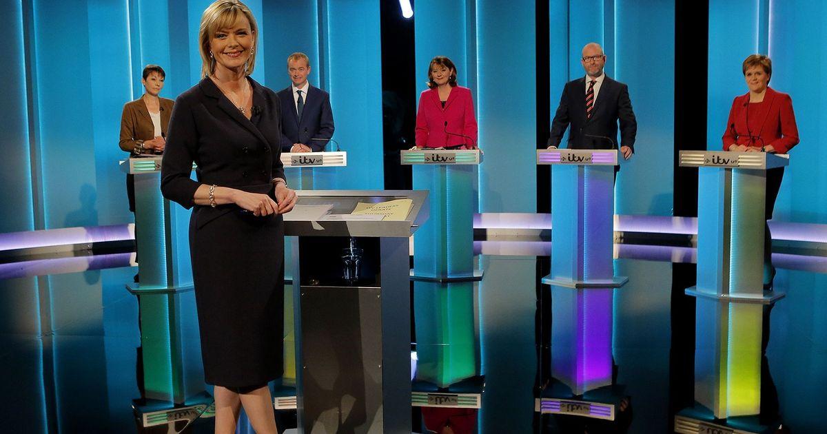 The ITV 2017 first leaders debate